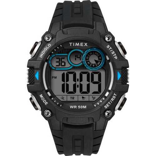 Timex TW5M27300 DGTL Big Digit 48mm Silicone Strap Watch