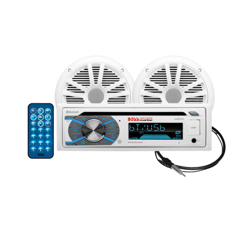Marine Stereo Package, AM/FM/MP3/CD/SD