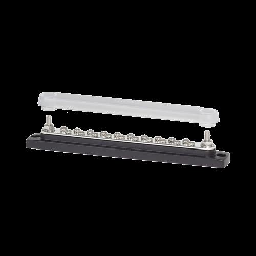 """BusBar, 20 x #8 screws, 2 x 1/4"""" Studs"""