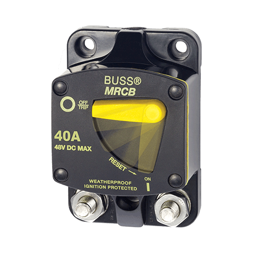 Breaker, 187, Surface Mnt DC 40A