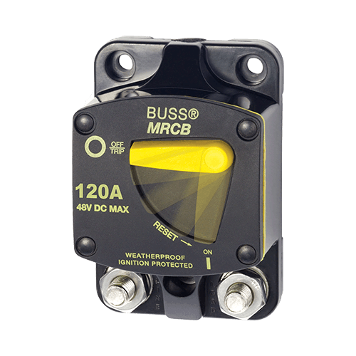 Breaker, 187, Surface Mnt DC 120A