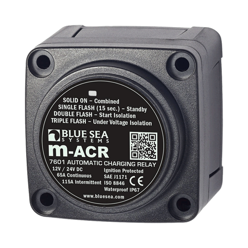 Automatic Charging Relay, 65A. 12/24V