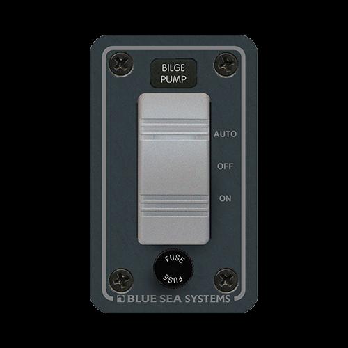Sw Panel, Bilge Pump, Contura w/ Fuse