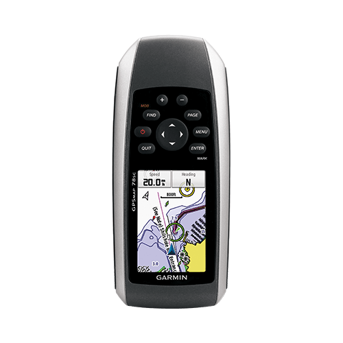 GPS-HH, GPSMAP 78 w/ basemap