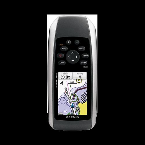 GPS-HH, GPSMAP 78sc Coast Maps, Alt+Comp