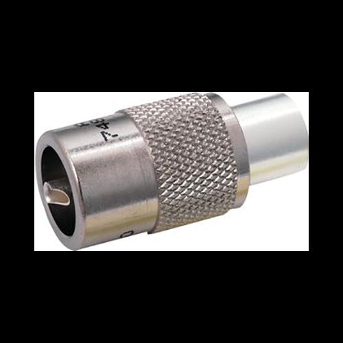 Amphenol 83-1SP PL259 UHF Plug, Silver