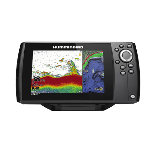 Helix 7 CHIRP GPS G3, w/Xdcr