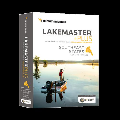 Lakemaster+ Maps, Southeastern States