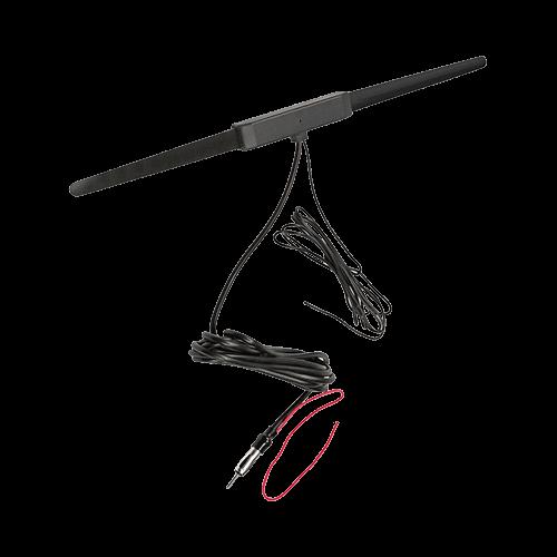 AM/FM Antenna, Amplified Glass Mount
