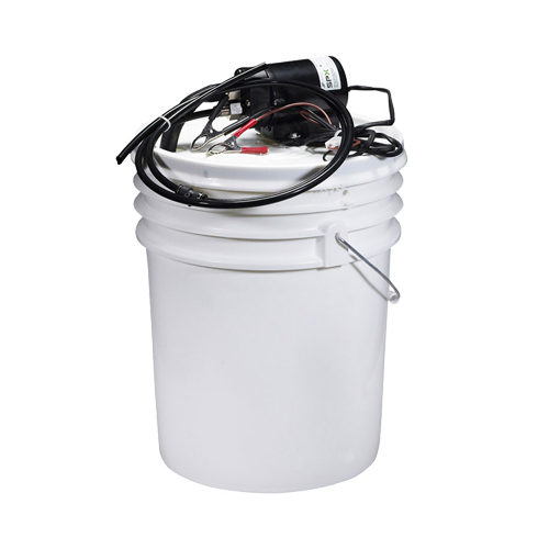 Oil Change Kit with 12V Pump & Pail