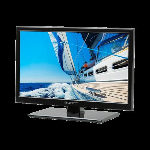 "TV, 19"" 12V LED, with DVD, USB, 1x HDMI"