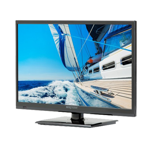 "TV, 22"" 12V LED, with DVD, USB, 2x HDMI"