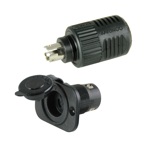 Connect Pro Plug & Recep., 3-wire