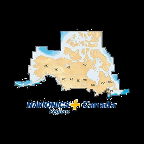 Navionics+ Canada, MSD, Lakes & Coast