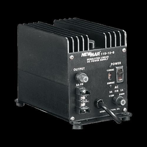 Power Supply, 115VAC/12VDC 8 Amp