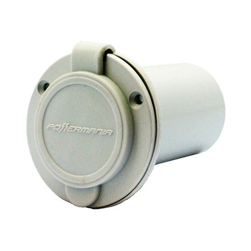 AC Plug Port (White)