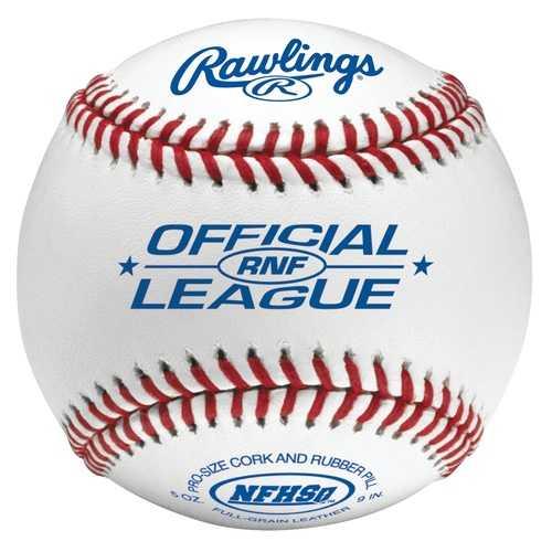 Rawlings High School Game Ball Composite Cork/Rubber 1 Dozen