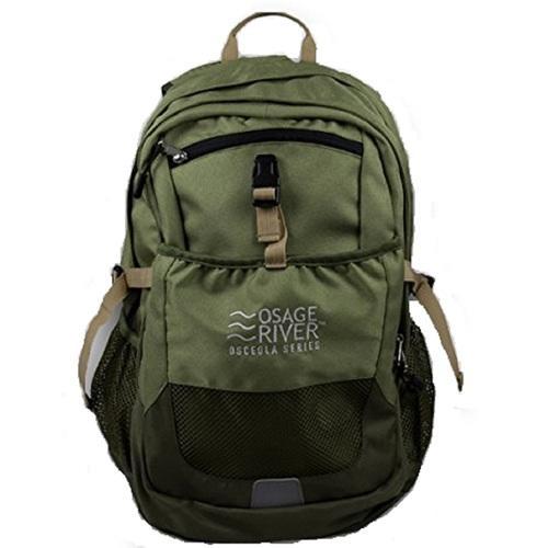 Osage River Osceola Series Daypack - Olive/Tan