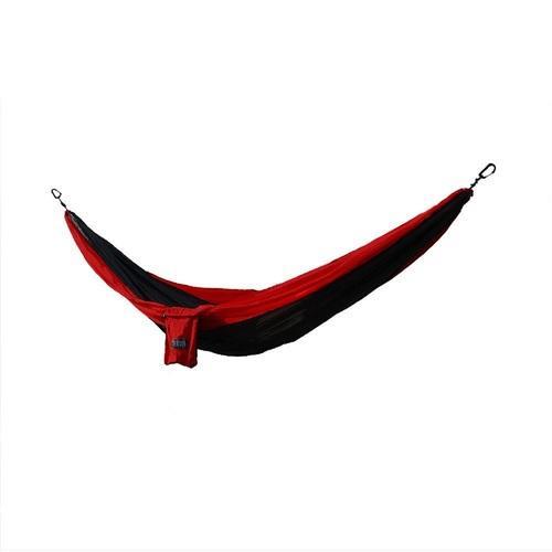 Osage River Twain Double Hammock - Black/Red