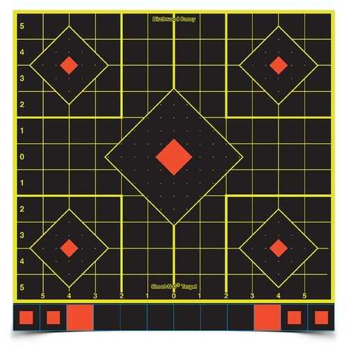 Birchwood Casey Shoot-N-C 12in Sight In Target-50 Sheets