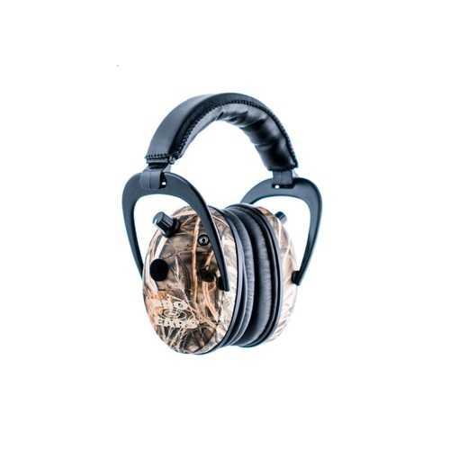 Pro Ears Predator Gold Ear Muffs RealTree Adv Max 4 Camo
