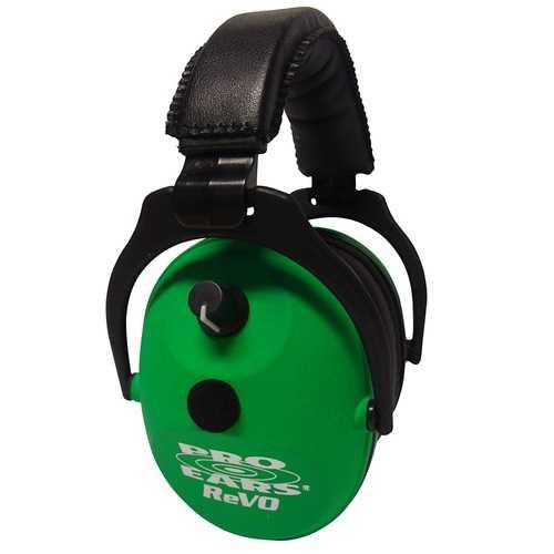 Pro Ears Pro Ears ReVO Electronic Ear Muffs - Neon Green