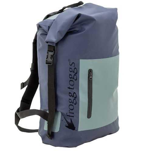 Frogg Toggs PVC Tarpaulin Waterproof Backpack Blue