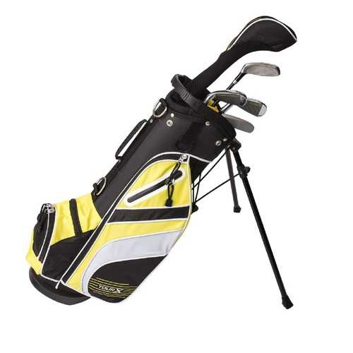 Tour X Size 1 5pc Jr Golf Set w Stand Bag LH
