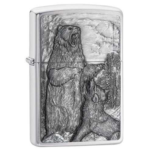 Zippo Bear vs. Wolf Lighter