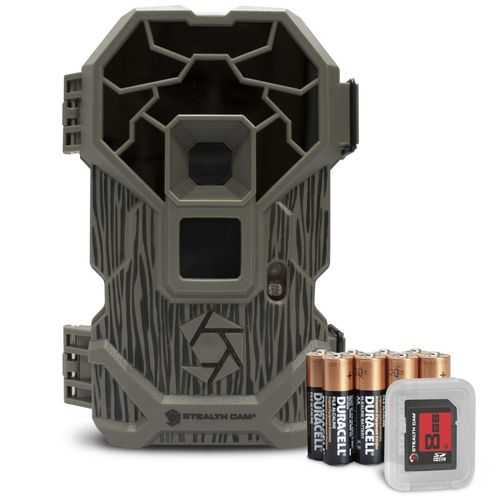 Stealth Cam PXP36 22MP No Glo Camera w Batteries and SD Card