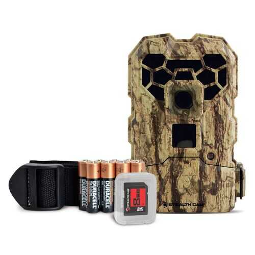 Stealth Cam QS24 14 MP No Glo Camera w Batteries and SD