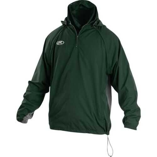 Rawlings Adult Triple Threat Jacket Dark Green Large