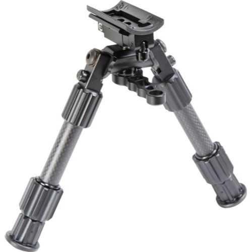 Caldwell Accumax Carbon Fiber Prem Swivel Stud Bipod 6-9in