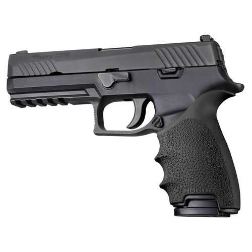 Hogue HandAll Beavertail Grip Sleeve Sig Sauer P320 Black