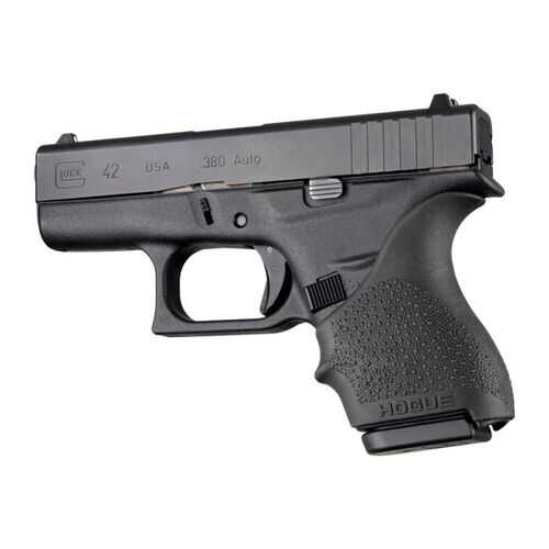 Hogue HandAll Beavertail Grip Sleeve Glock 42 43 Black