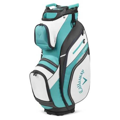 Callaway Golf 2020 ORG 14 Cart Bag-White-Teal-Charcoal