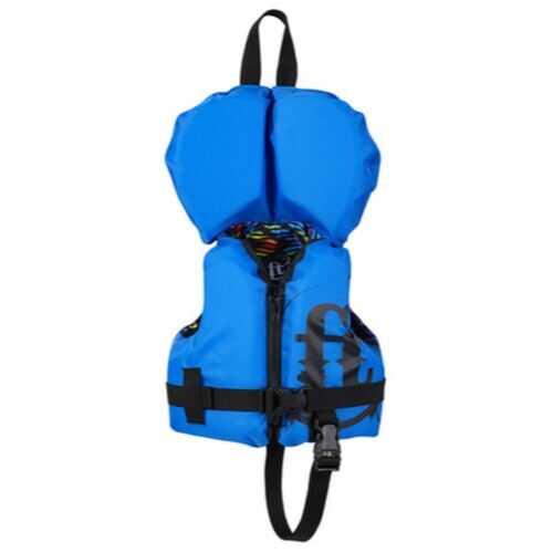 Full Throttle Infant Life Jacket Nylon-Blue
