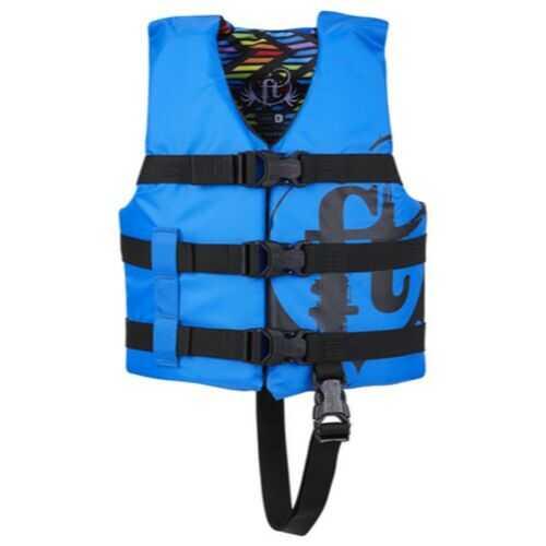 Full Throttle Child Life Jacket Nylon-Blue