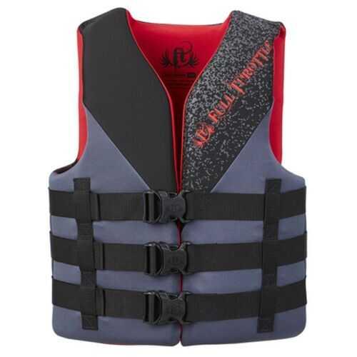 Full Throttle Adult Life Jacket Rapid-Dry S-M-Black