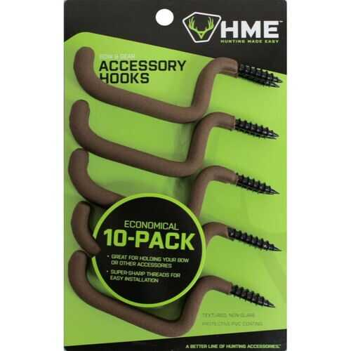 HME Bow and Gear Holder 10 Pack