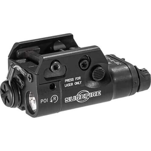 SureFire XC2AIRC Handgun Light and Laser Sight Black