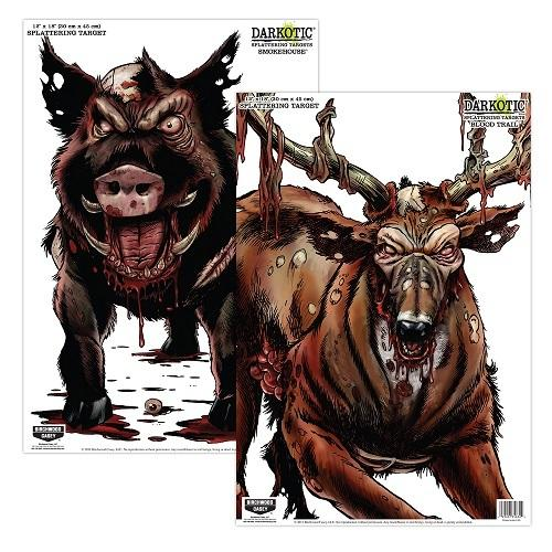 Birchwood Casey Darkotic Combo Smokehouse/BloodTrail Targets