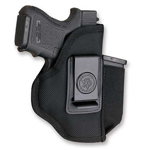 DeSantis Ambi Blk Pro Stealth Holster-all small revolvers