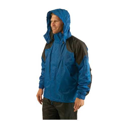 Texsport Amr. Clipper Deluxe Rain Jackets LG F.Green/Black