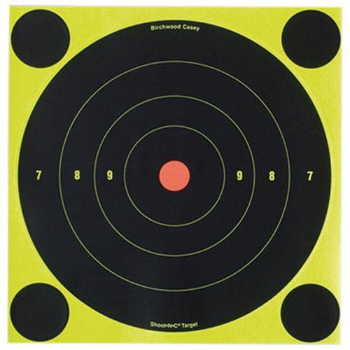Birchwood Casey Shoot-N-C 8 inch Round Target 30 Sheet Pack