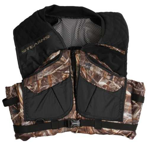 Stearns Pfd Adult Comfort Series Max-5 Camo Vest Medium