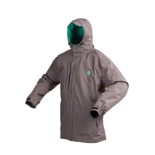 Coleman Apparel Fleece Lined Grey Jacket Medium
