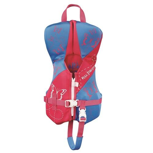 Full Throttle Infant Hinged Rapid-Dry Flex-Back Vest Pink