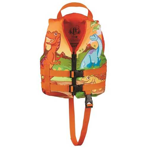 Full Throttle Child Water Buddies Vest-Dinosaur
