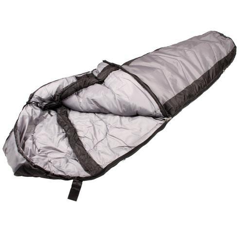 North Star 3.5 CoreTech Sleeping Bag - Black/Silver